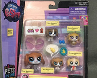 New Box LPS Beagle Family 231 235 Mommy And Babies Beagleton Pets 2