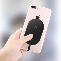 Baseus QI беспроводной приемник зарядного устройства для iPhone 7 6 5 samsung a5 7 беспроводной зарядный приемник для Xiaomi 5 6 Redmi 4x oneplus lg