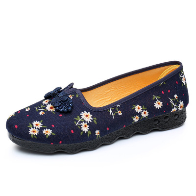 Ladies Shoes Fashion Women Loafers Shoes For Work Women Flats Pregnant Women soft sole Women Office Shoes OrientPostMark vintage embroidery women flats chinese floral canvas embroidered shoes national old beijing cloth single dance soft flats