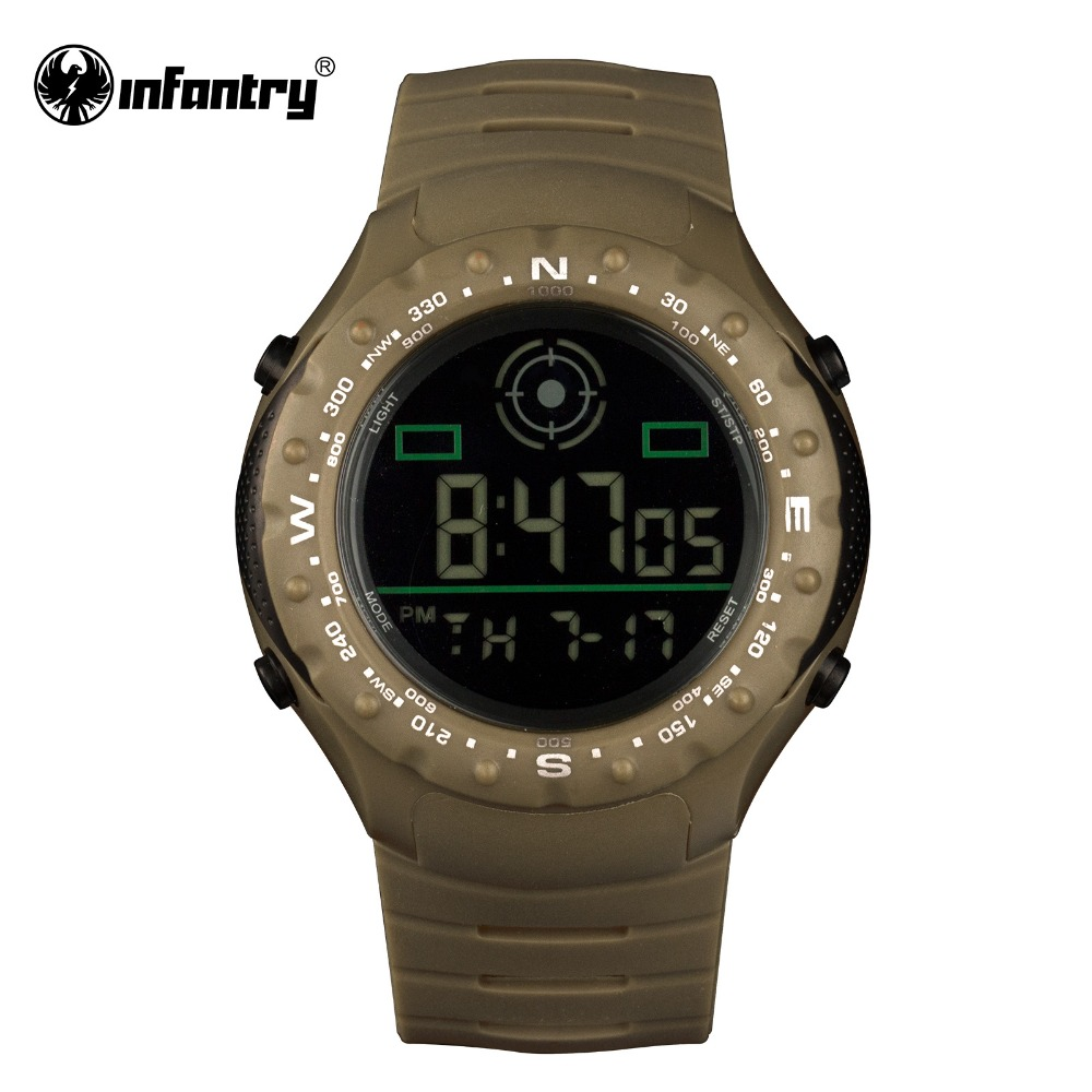 popular digital sports watches buy cheap digital sports watches infantry mens watches reloj led digital sports watches for men military army date day watches 30m