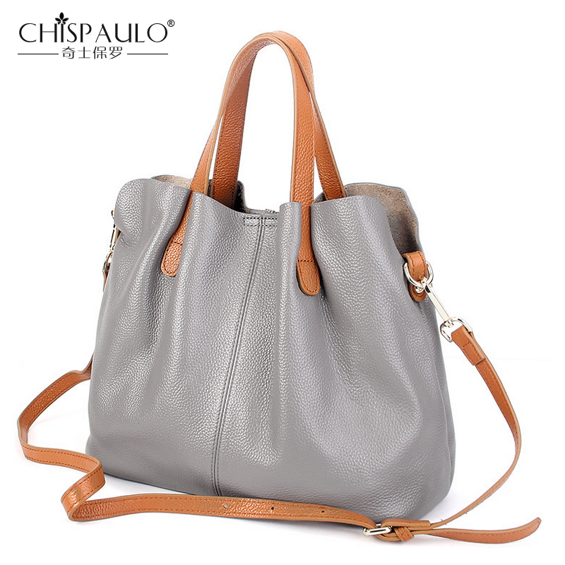 Genuine Leather Bag Women Bag Luxury Handbags Women Bags Designer 2017 Women Messenger Bag Famous Brand Shoulder sac a main Tote new genuine leather bags for women famous brand boston messenger bags handbags tassel tote hand bag woman shoulder big bag bolso