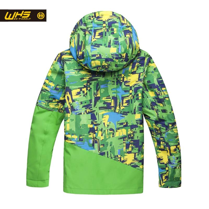 Traje de esquí de WHS Boys, chaquetas y pantalones de nieve, niños, - Ropa deportiva y accesorios - foto 2