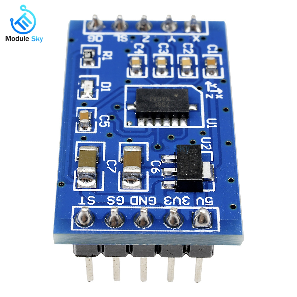 MMA7361 RT9161 Acceleration Angle Speed Sensor Module Inclination  Accelerometer Acceleration Board For Arduino UNO Raspberry pi