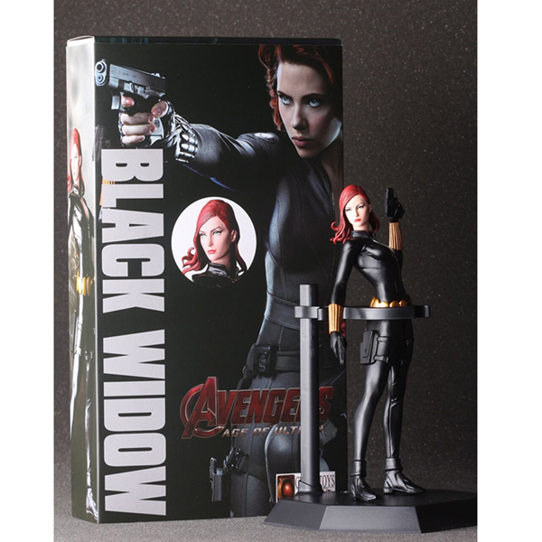 The Avengers Black Widow PVC Action Figure Comic Collectible Model Toys Animation High quality 17CM/7 in box Free Shipping 7 18cm crazy toys marvel the avengers 2 toy black widow pvc action figure collection model