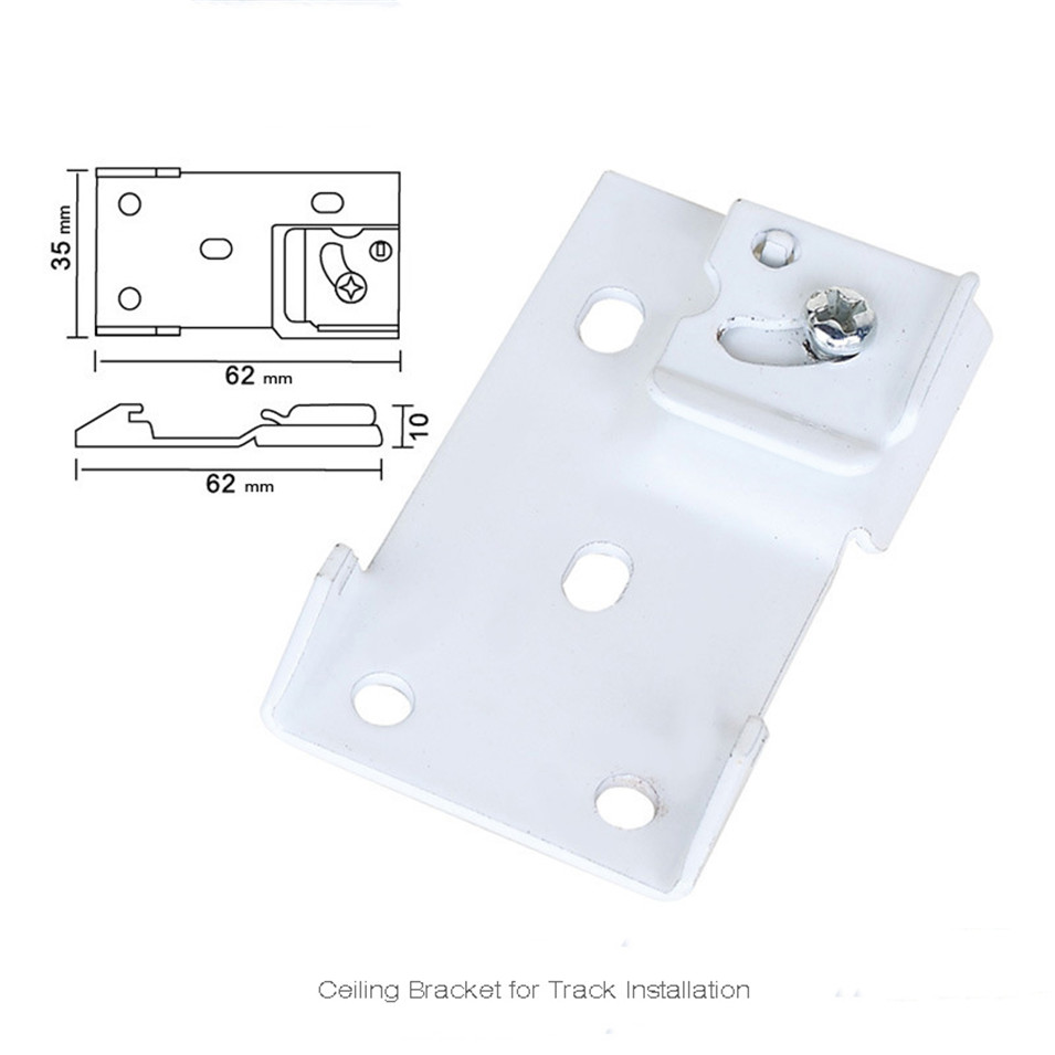 6pcs Ceiling Bracket for Dooya Old Somfy Customizable Super Quiet Electric Curtain Track and Xiaomi Smart Curtain Track System