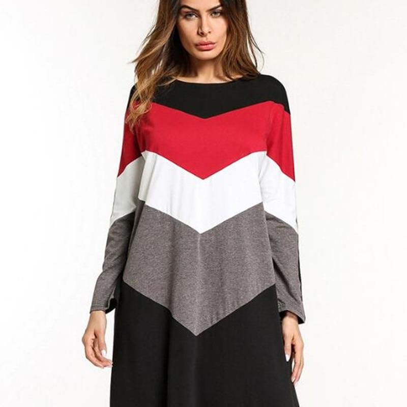 6a8a17b0c2221 US $42.71 |Muslim Abaya Stripe Maxi Dress Kimono Long Robe Gowns Loose  Style Plus Size Jubah Ramadan Middle East Islamic Clothing QC567-in Dresses  ...