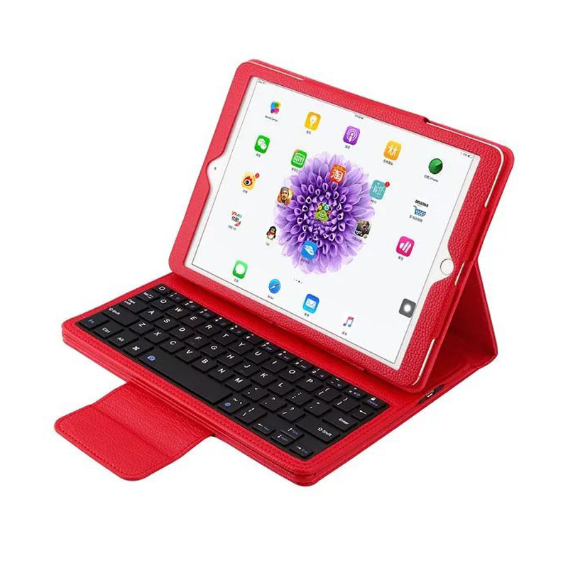 For ipad pro 9.7 case cover with keyboard stand PU leather Removable Wireless Bluetooth Keyboard cover case for apple pro cover 12 9 with wireless bluetooth keyboard for ipad pro case flip stand pu leather cover free shipping
