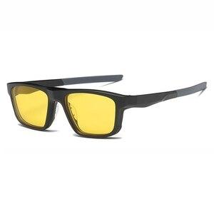Image 5 - Montura de gafas ópticas para hombre y mujer, con 4 imanes de Clip, gafas de sol polarizadas, montura de gafas para ordenador, YQ333