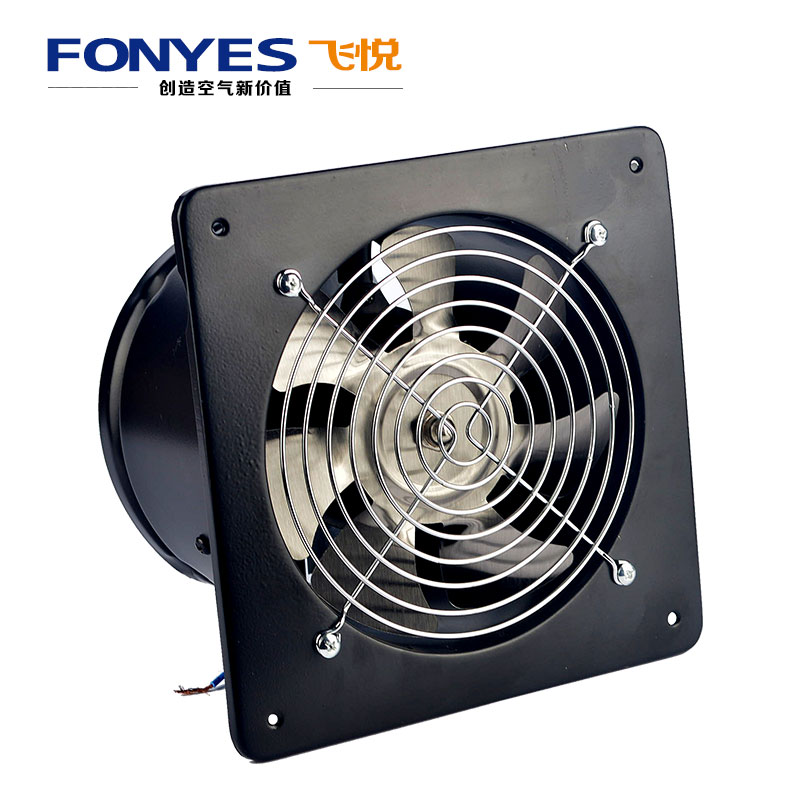 "Kitchen Exhaust Fans: 6"" Wall Mounted Ventilation Fan High Speed Ventilator For"