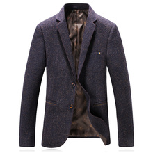 2018 autumn new style suit men's business casual blazers men single breasted coat jacket classics woolen blazers man