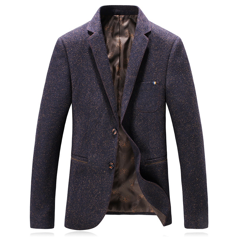 2019 Autumn New Style Men s Suit Jacket Business Casual Blazers Men Single Breasted Coat Jacket