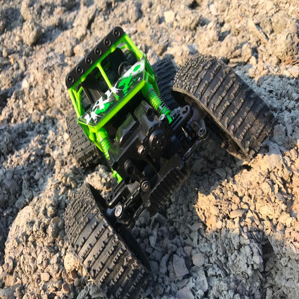 Image 4 - 4WD 2.4Ghz Remote Control Car Snowfield Rock Crawler Car-in RC Cars from Toys & Hobbies