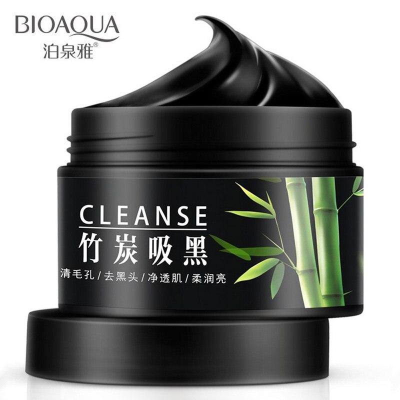 BIOAQUA Charcoal Black Face Mask blackhead Remover Facial Mask Whitening Moisturizing Remove Black Head Acne Treatment Skin Care