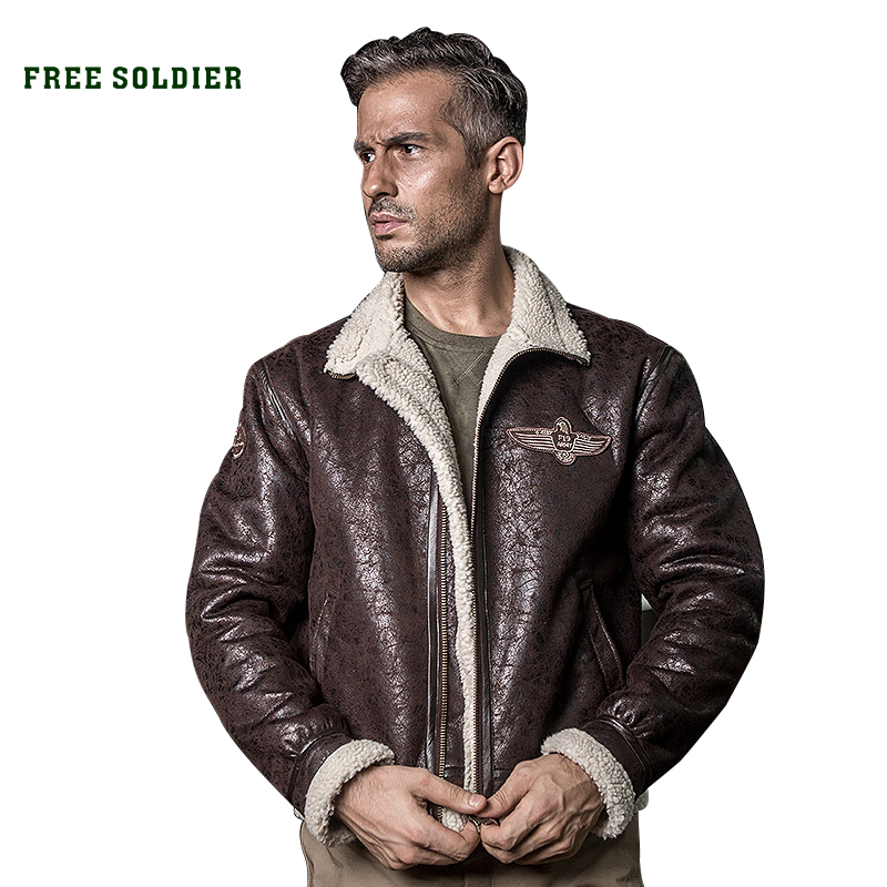 Bomber-Jacket Free Soldier Outdoor Tactical Hiking Winter Camping Autumn Pilot Heat-Conserving