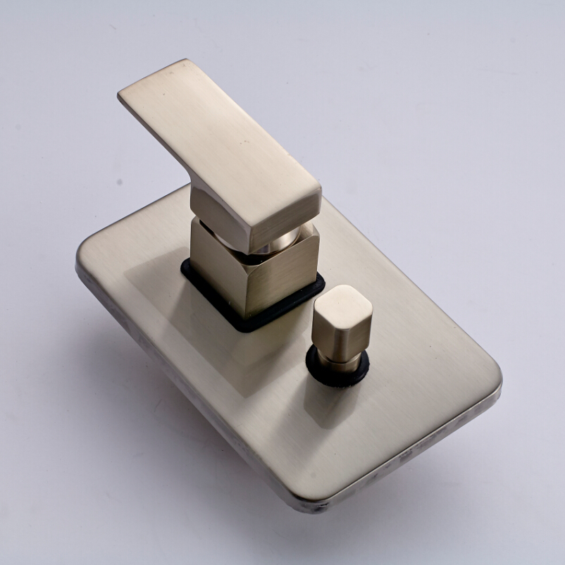 Free Shipping Concealed Install Single Handle Control Mixer Valve ...