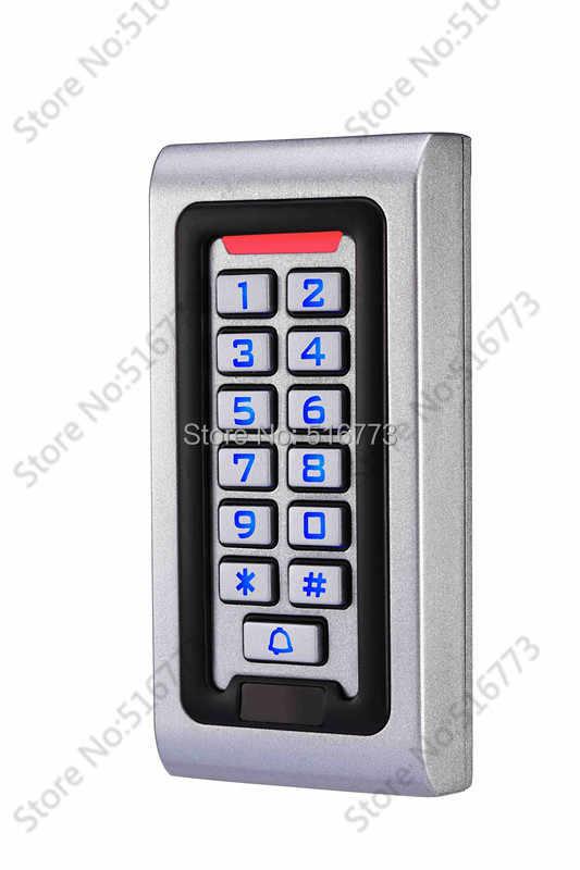 2000 Người Sử Dụng, kim loại truy cập không thấm nước hệ thống điều khiển, hỗ trợ Card, PIN, Card + PIN