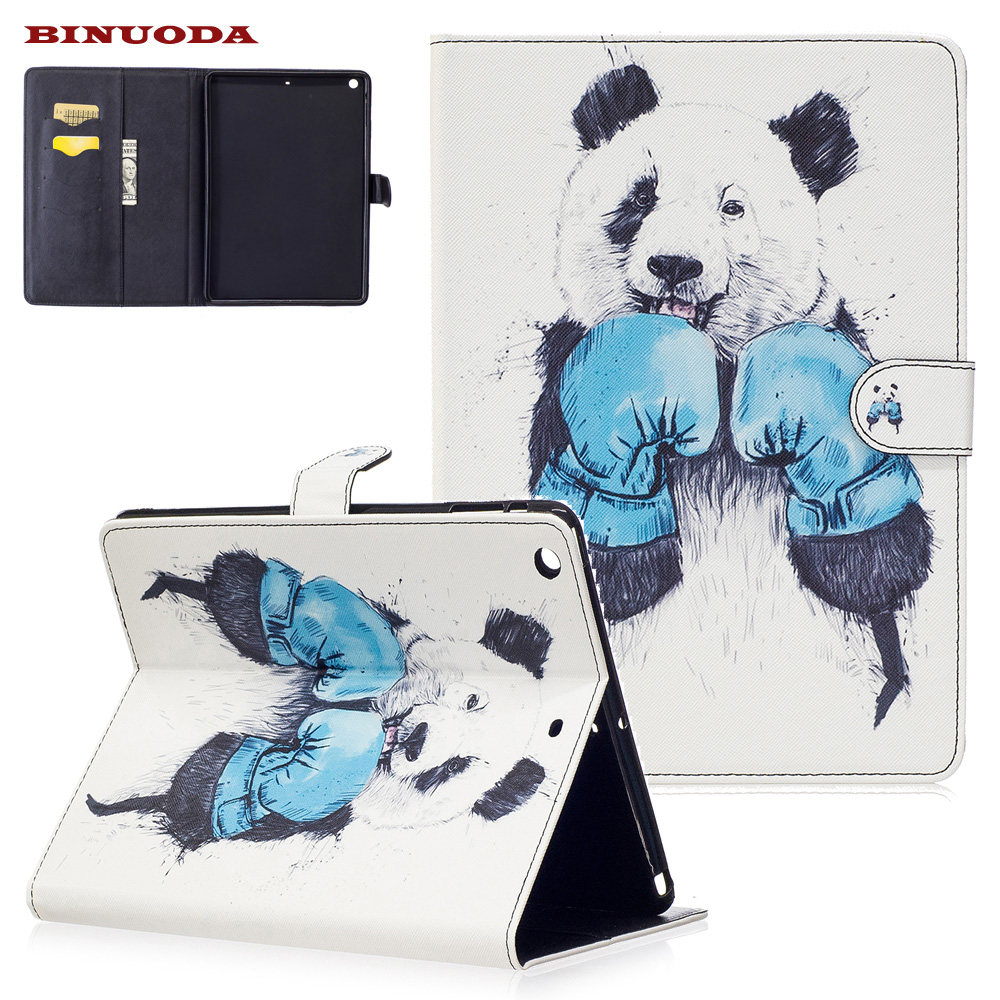 For Coque iPad Air Case Fashion Art Prints PU Leather Flip Stand Magnetic Snap Case Cover for iPad Air iPad 5 Soft TPU Skin