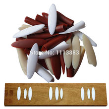 100-Pack Wood/White/Red Color Pocket Plugs Plastic Caps for Pocket Hole Jig System цена