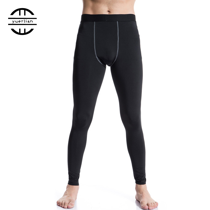 GYM Leggings New Sports Tights Compression Pants Jogger Pantalones Hombre Trousers Wicking Sportswear Black Running Pants Men