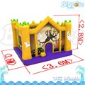Inflatable Biggors Bounce House Halloween Attraction Inflatable Bouncer Kids Gift Outdoor Decoretion Bouncy Castle