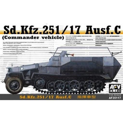 1/35 Battle Eagle German SD. KFZ. 251 / 17C Command Vehicle AF 35117 колесные диски kfz 9610 6 0x16 5x112 d57 1 et53
