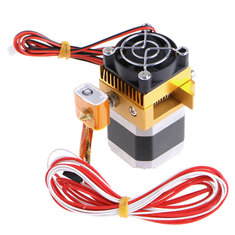 MK8 Extruder Kit for Makerbot Prusa i3 Extrusion Head Extruder 3D Printer Part [sintron]high accuracy diy 3d printer kit for reprap prusa i3 mk3 heatbed lcd 2004 mk8 extruder official prototype free shipping