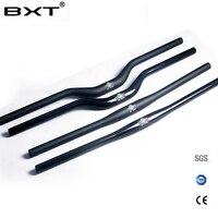 Brand BXT Carbon Fiber Bicycle Handlebar Matt Glossy Mountain Bike Carbon Handlebar 600mm 720mm Mtb Bicycle