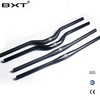 Brand BXT Carbon Fiber Bicycle Handlebar Matt Glossy Mountain Bike Carbon Handlebar 600mm 720mm Mtb Bicycle
