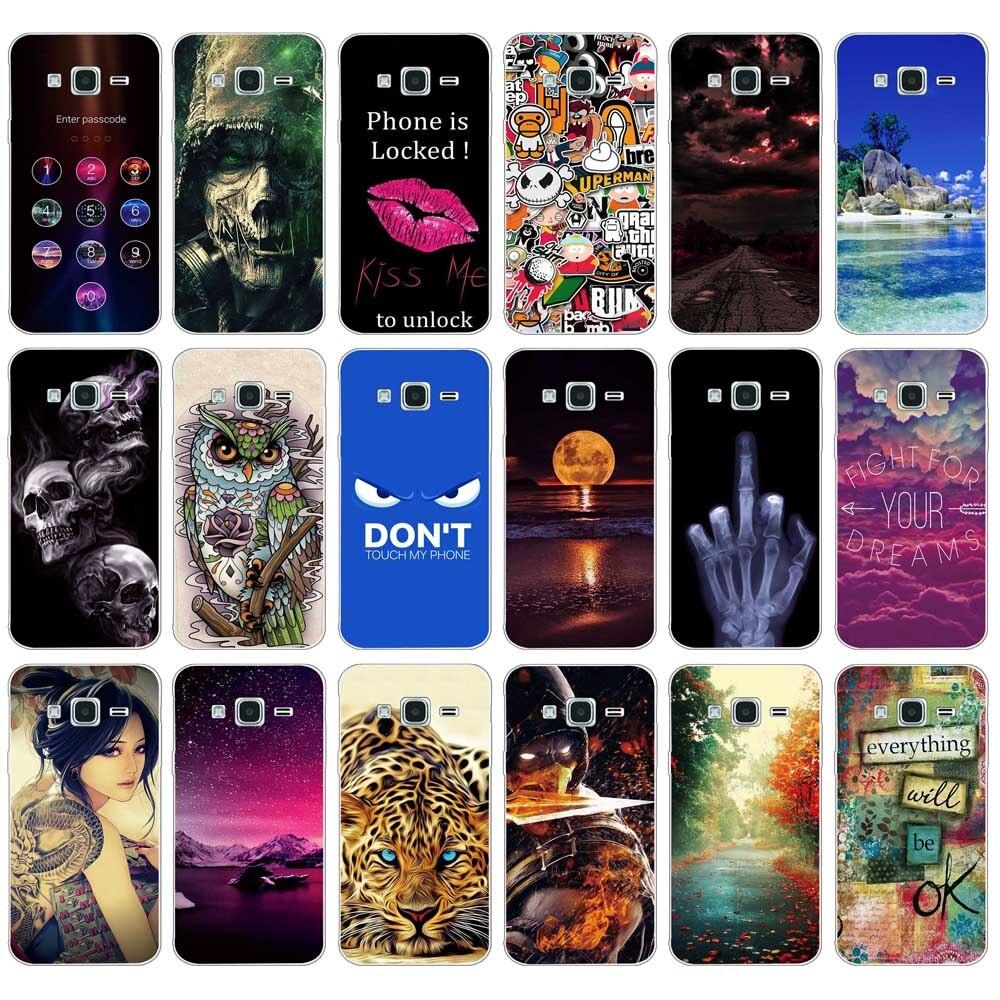 50f9b0cff95 Soft Back Cover For Samsung Galaxy J1 (6) J120F J120h j120 TPU Phone ...