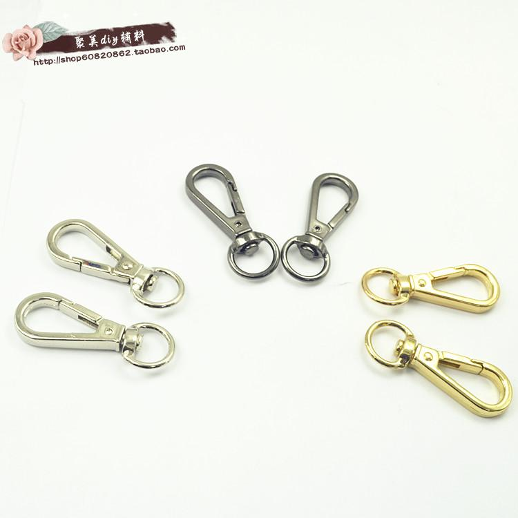 High quality DIY bag parts dog buckle bag strap hook handbag hardware bag clasp purse hook bag carabiner high quality metal hook bag strap buckle bag hardware chain clasp bag handle hook connect buckle bag strap clasp
