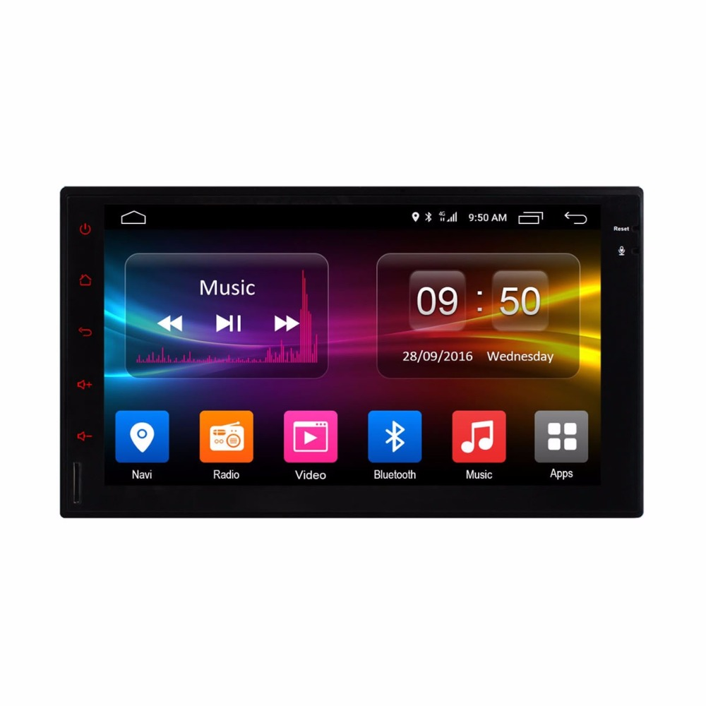 vehicel C500 Octa 8 Core Android 6.0 2G RAM 32GB ROM Support 4G LTE SIM Network Car GPS 2 din Universal car Radio player no dvd