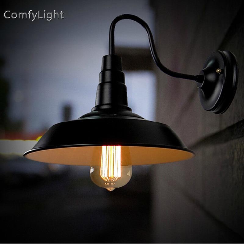Vintage étanche extérieur applique lampe villa applique rétro décor maison royale/jardin patio/cour/porche mur LED lumières