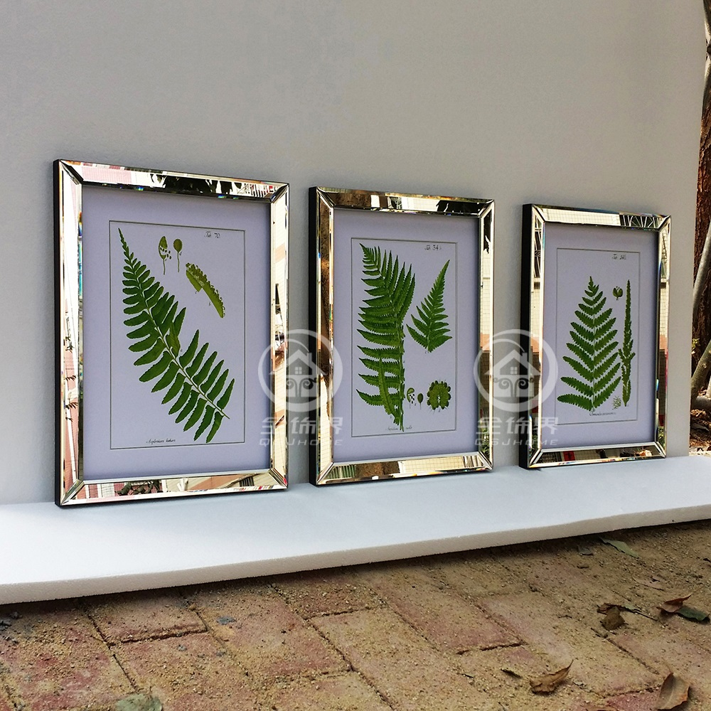 Spiegel Mit Bilderrahmen fashion mirrored wall frames modern combinative photo frames wall
