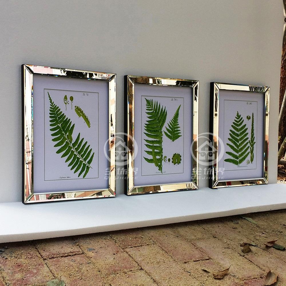 Mode gespiegelt wand rahmen moderne kombi foto rahmen wandbild wand ...