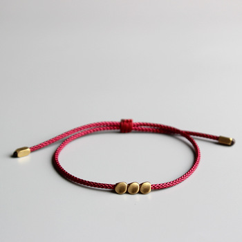 Bracelet Fil Rouge Tibetain