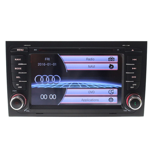 """7 """"Táctil Capacitiva Scree para Audi A4 (2002-2008) S4/RS4/8E/8F/B9/B7 Coches Reproductor de DVD Multimedia GPS Radio Bluetooth RDS Canbus USB"""