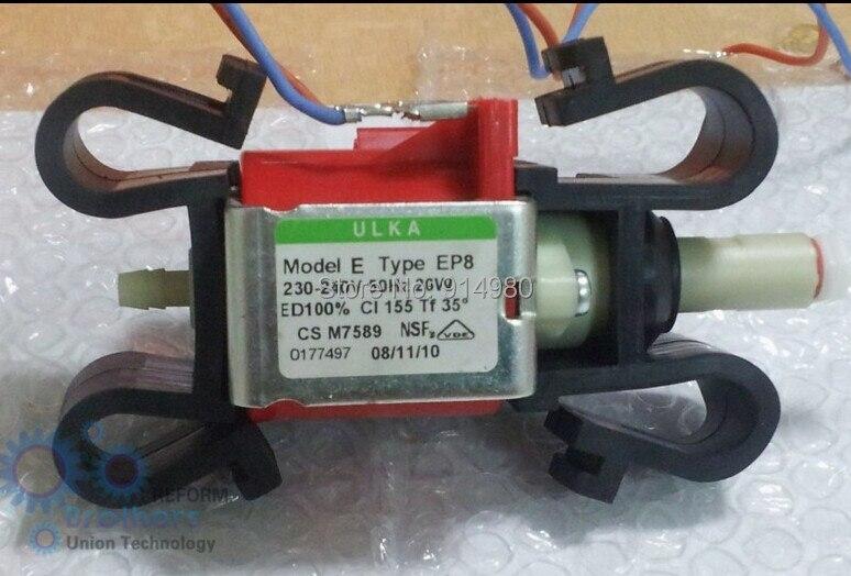 ФОТО 230-240V ULKA coffee machine pumps EP8 electromagnetic pump self-priming pump 1200 ml / min. water pump