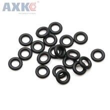 цена на AXK 100pcs 2mm Thickness Black Rubber O Ring Sealings 37/38/39/40/42/44/45/46/47/48/50mm OD Nitrile Rubber O Rings Seals Gaskets