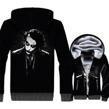 Joker WHY SO SERIOUS 3D Pattern Sweatshirt Autumn Winter Jacket 2018 Hot Sale Hip Hop Mens Hoodies Swag Batman Tracksuit Hoddie