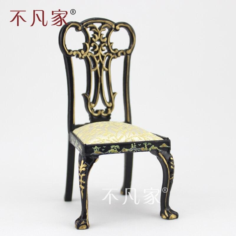 Dollhouse chaise meuble échelle 1:12