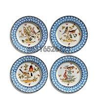 High grade Home decoration hanging plate living room decorative ceramic dish Decoration Crafts