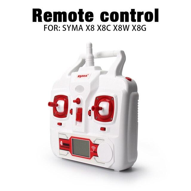 Для Syma X8 X8C X8W X8G RC Drone Пульт Дистанционного управления Запчасти передатчик RC Quadcopter