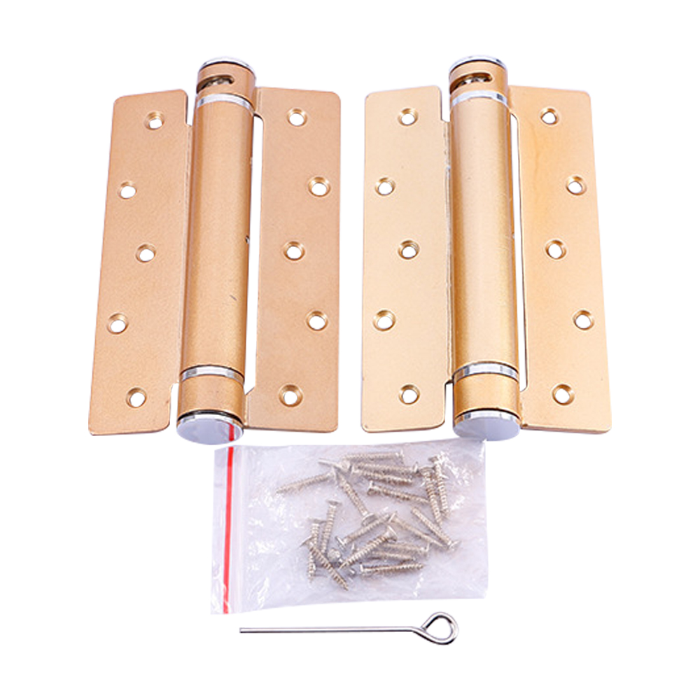 Cold rolled Steel Hydraulic spring loaded Bronze Gold positioning Door hinge adjustable tension For Wood Doors buffer nervilamp 710 2a gold bronze