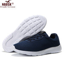 NAUSK Plus Size 35-47 Fashion Krasovki Men's Casual Shoes Male Sneakers Lightweight Breathable Shoes Tenis Masculino Adulto(China)