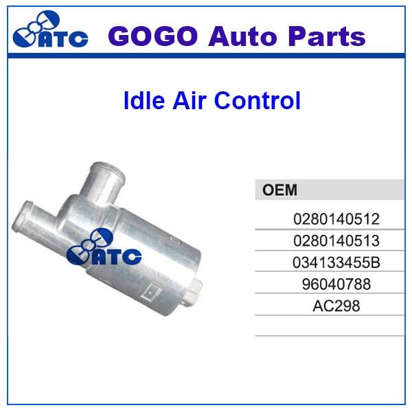 Prix pour Idle Air Control Valve Pour ADUI V olkswagen OEM 0280140512 0280140513 034133455B 96040788 AC298