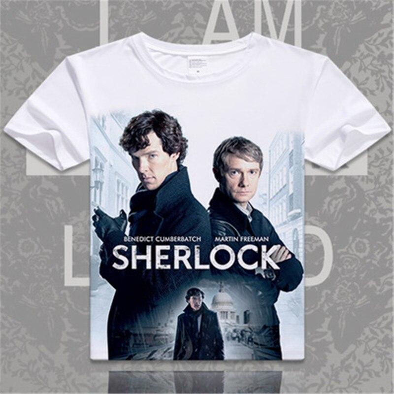 Britain London Shirt Watson John Sherlock Holmes Doctor T 5ARjL34