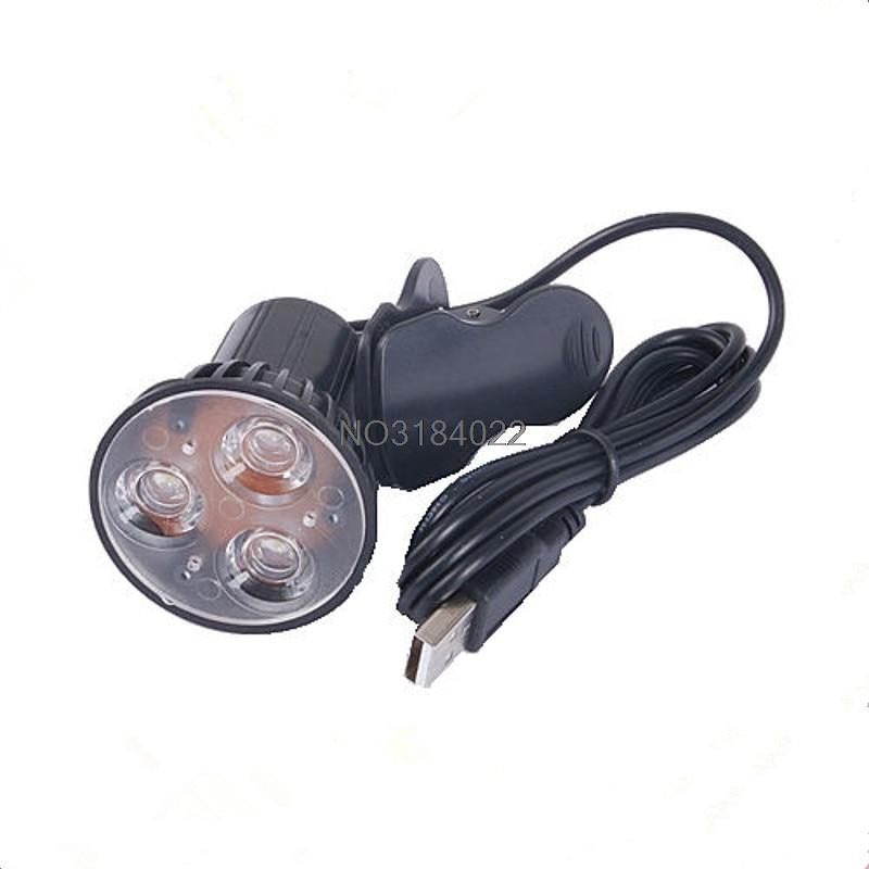 Lamps & Shades Reasonable New 1pcs Super Bright 3 Led Port Clip On Spot Usb Light Lamp For Laptop Pc Notebook Black