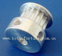 Ücretsiz kargo T2.5 alüminyum zamanlama kasnağı ve PU T2.5 açık zamanlama kemeri 10mm bant genişliği