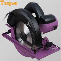 Free shipping new Portable woodworking circular saws can flip household aluminum body table saw electric circular saw