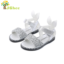 Rhinestone Girls Shoes With Rabbit Ears 13-22CM